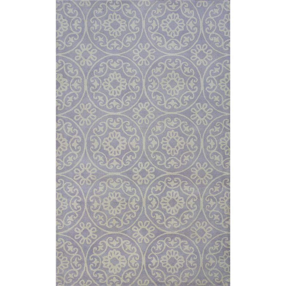 KAS DOH810423X76RU Donny Osmond Home Harmony 8104 Lilac Heritage Area Rug