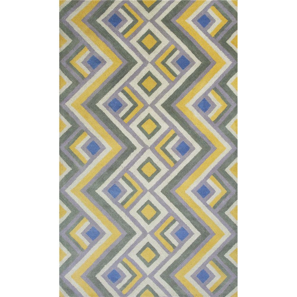 KAS DOH810723X76RU Donny Osmond Home Harmony 8107 Gold/Lilac Accents Area Rug