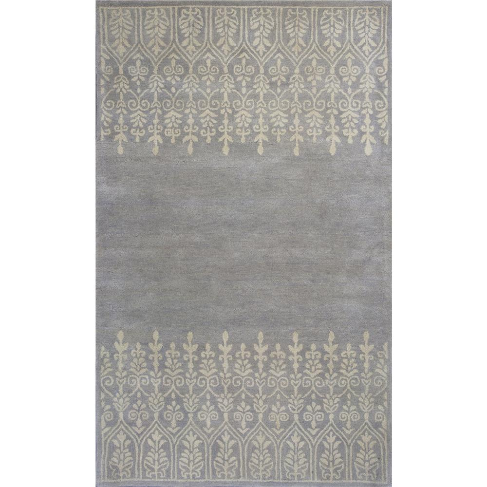 KAS DOH810823X76RU Donny Osmond Home Harmony 8108 Grey Traditions Area Rug