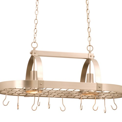Kalco 3616SN Contemporary 2 Light Pot Rack