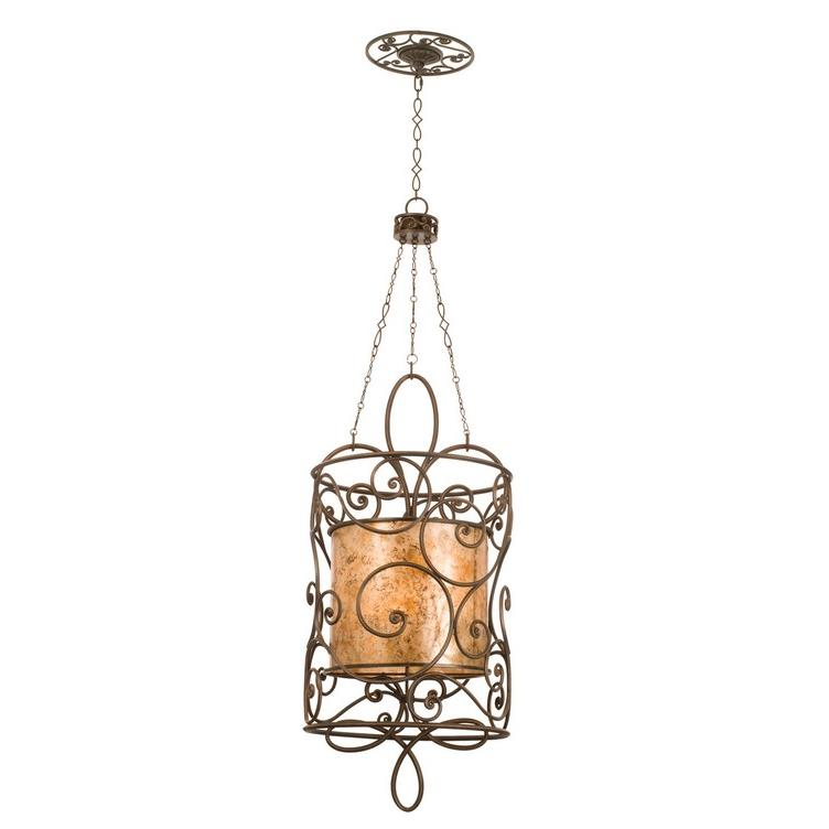 Kalco 5410AC Windsor 12 Light Medium Foyer Lantern