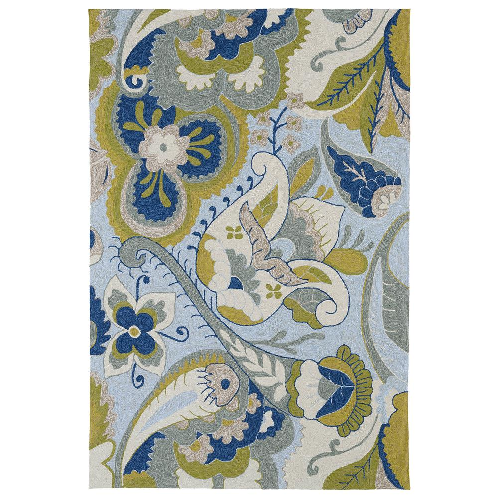 Kaleen 2037-56-23 Home and Porch Collection Rectangle Rug in Spa