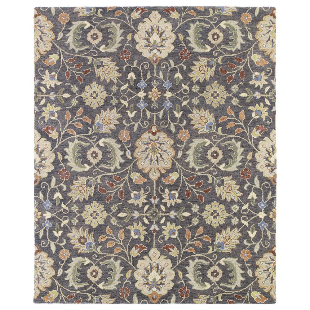 Kaleen 3201-73-23 Helena Collection Pewter Rectangle Rug