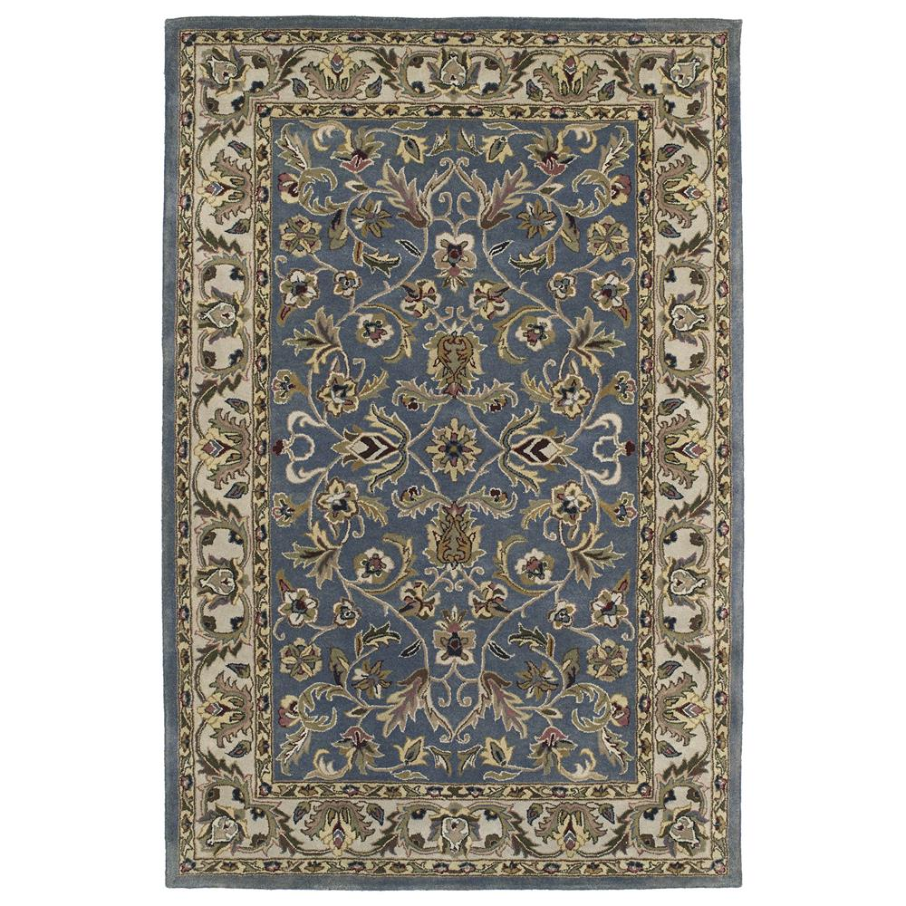 Kaleen 6001-17- 23 Mystic Collection Rectangle Rug in BLUE