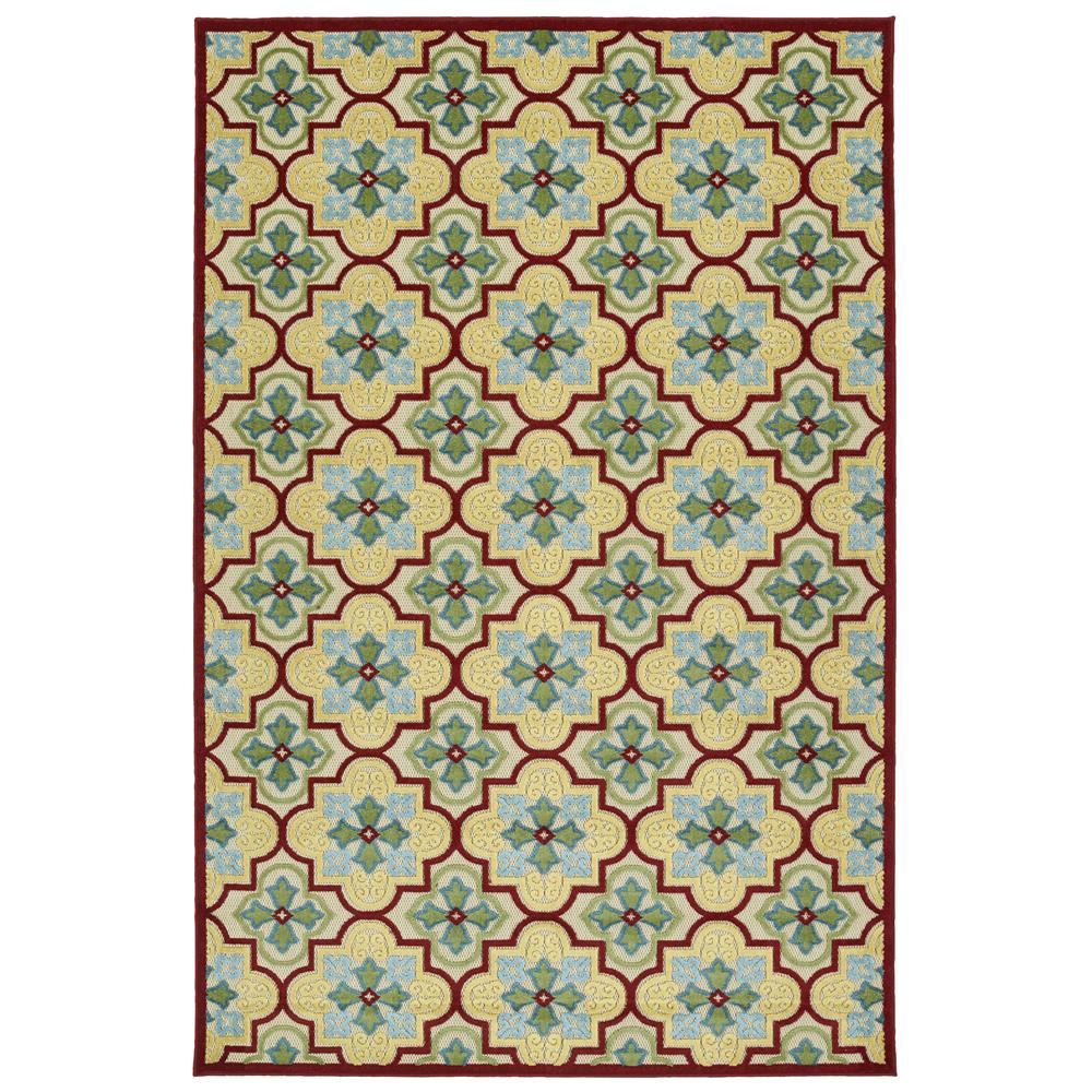 Kaleen Rugs FSR104-05-214 A Breath of Fresh Air Rug in Gold, 2
