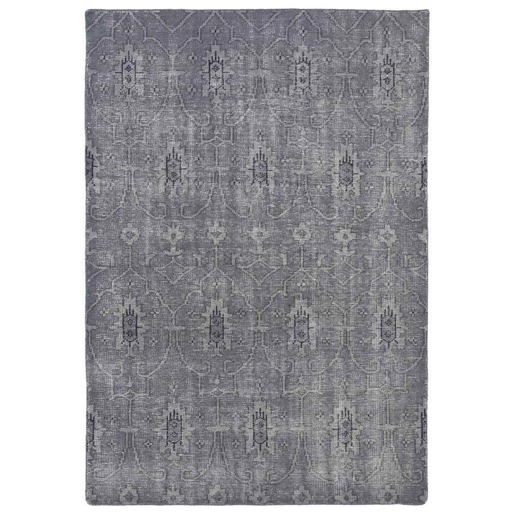 Kaleen RES01-75-23 Restoration Collection Rectangle Rug in Grey