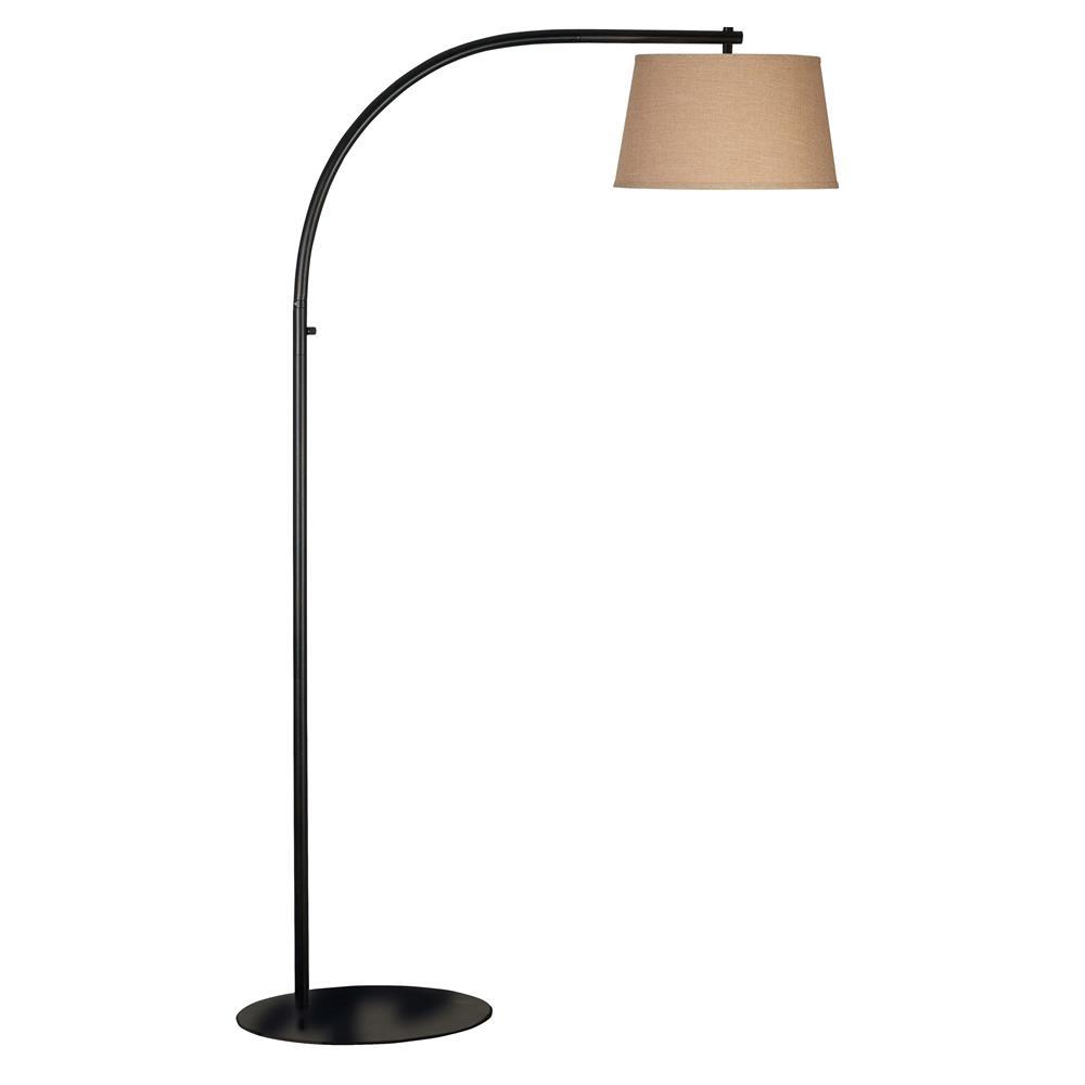 20953orb kenroy home 20953orb sweep floor lamp in oil for Ikea orb light