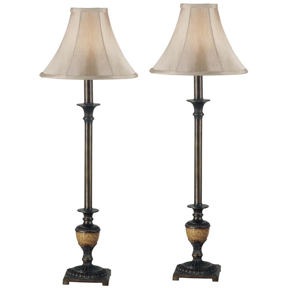 Buffet lamps shades - Kenroy Home 30944 Kenroy Home 30944 Emily Buffet Lamp