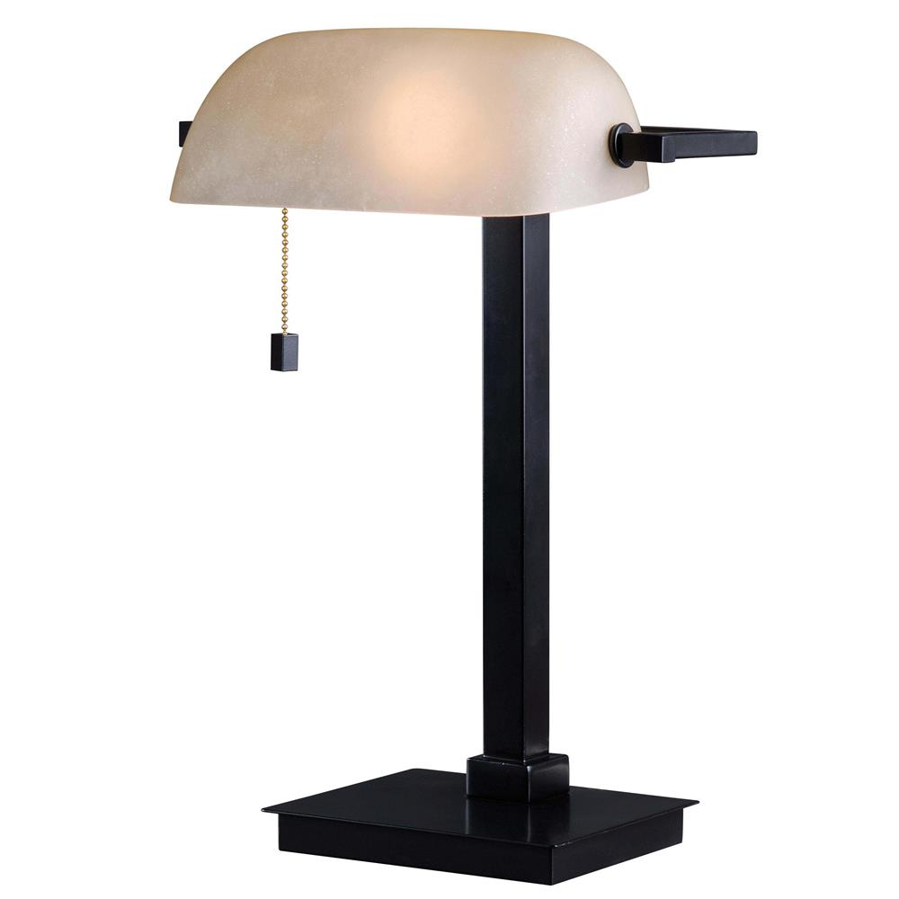 Kenroy Home 32305ORB Wall Street Desk Lamp in Oil Rubbed Bronze Finish