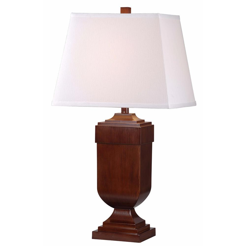 Kenroy Home 32415MAH Affiliate 2 Pack Table Lamp in Mahogany Finish