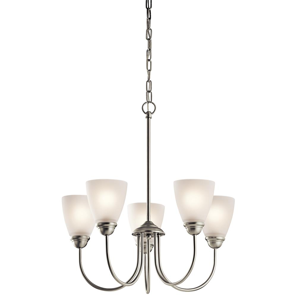 Kichler 43638NI Brushed Nickel Chandelier 5Lt