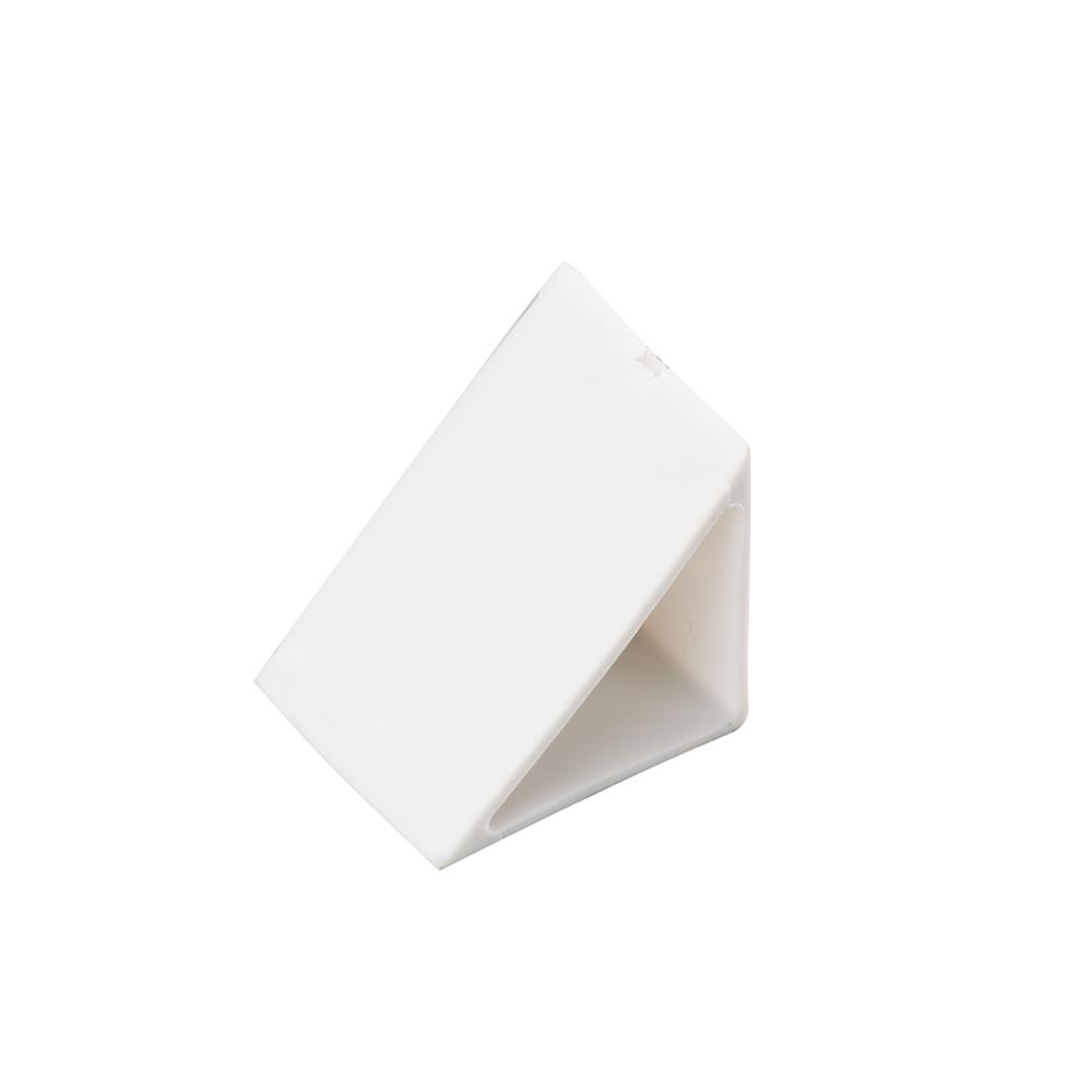 KICHLER 10178WH Track End Cap/45 Deg in  White Material (Not Painted)
