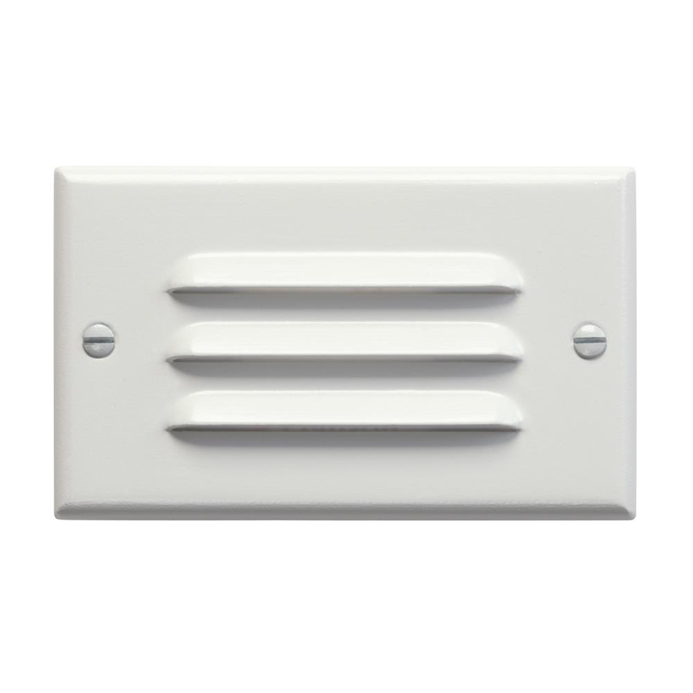 Kichler 12600WH LED Step Light Horiz. Louver in White