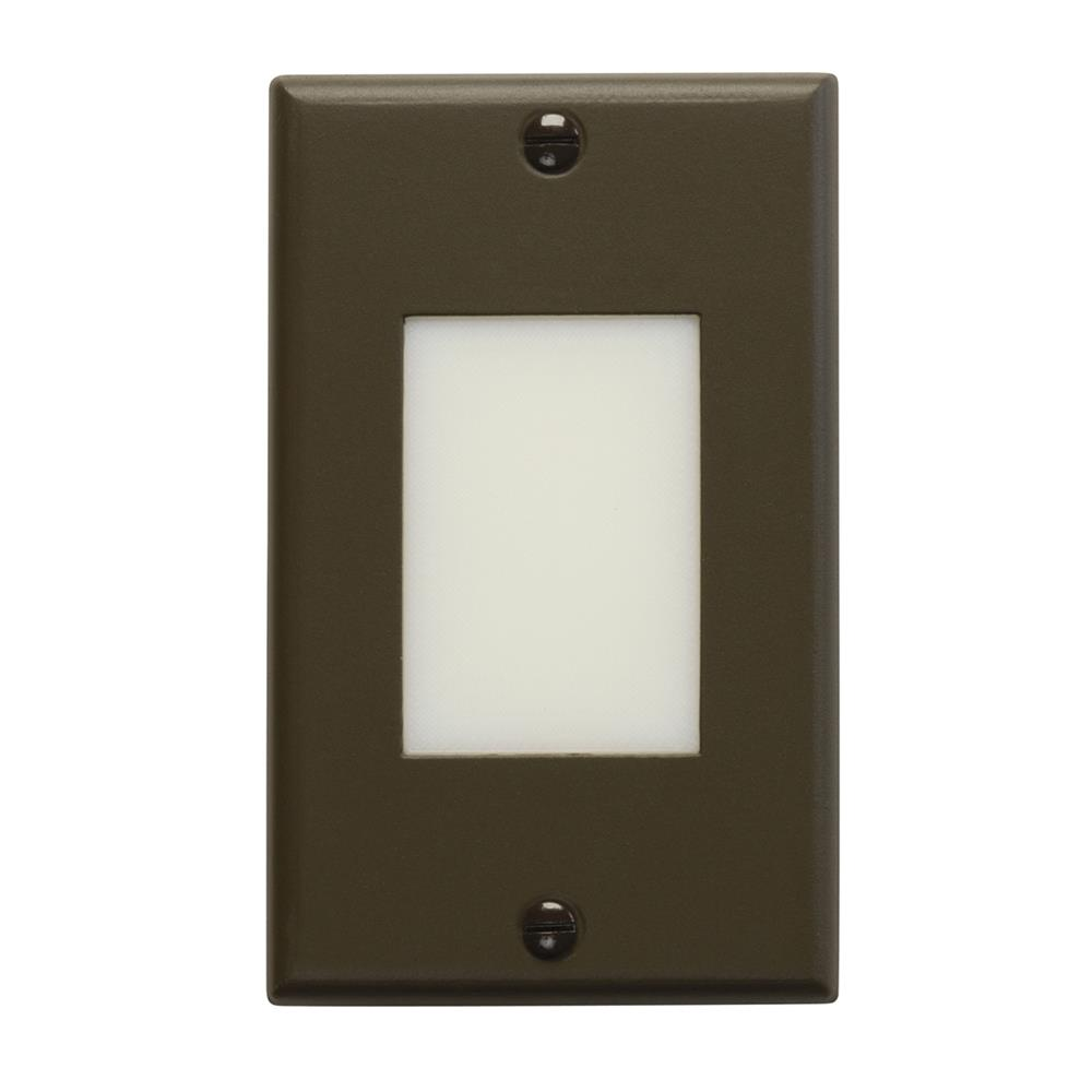 Kichler 12604AZ LED Step Light Lens in Architectural Bronze