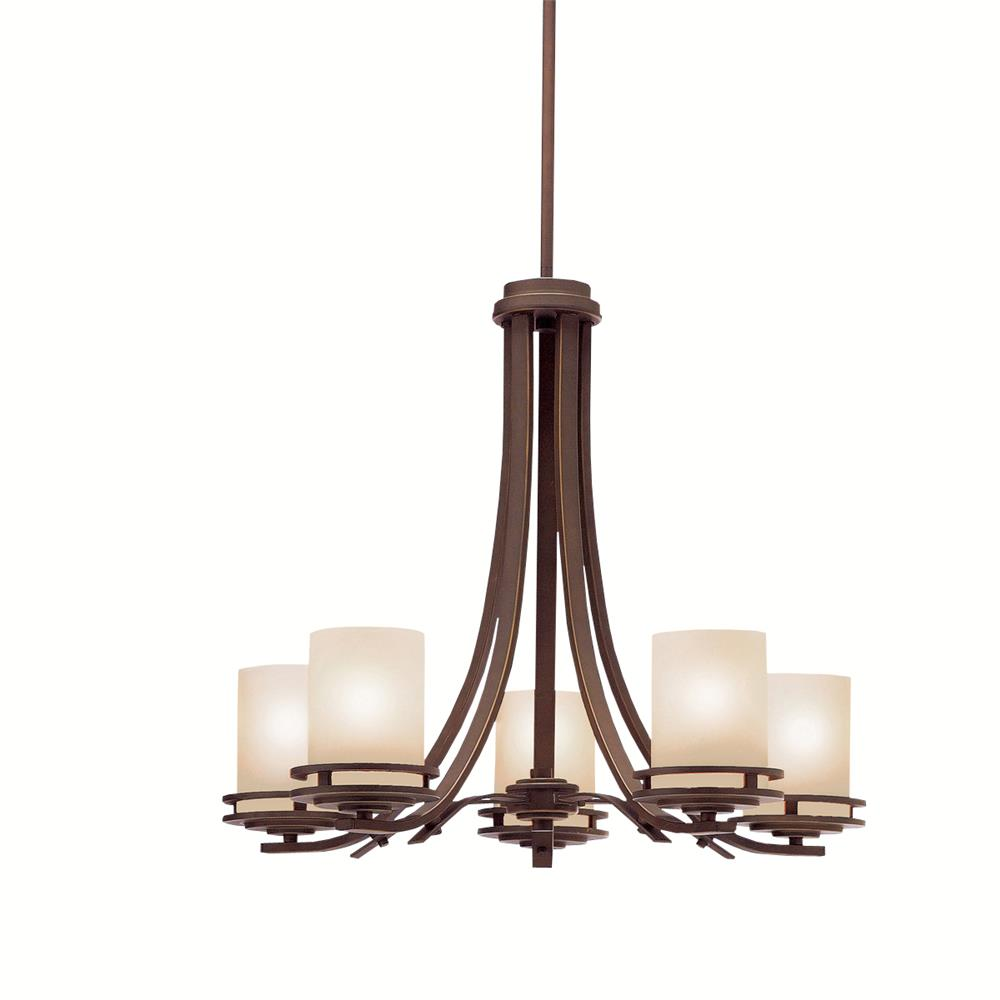 Kichler 1672OZ Chandelier 5 Lt in Olde Bronze