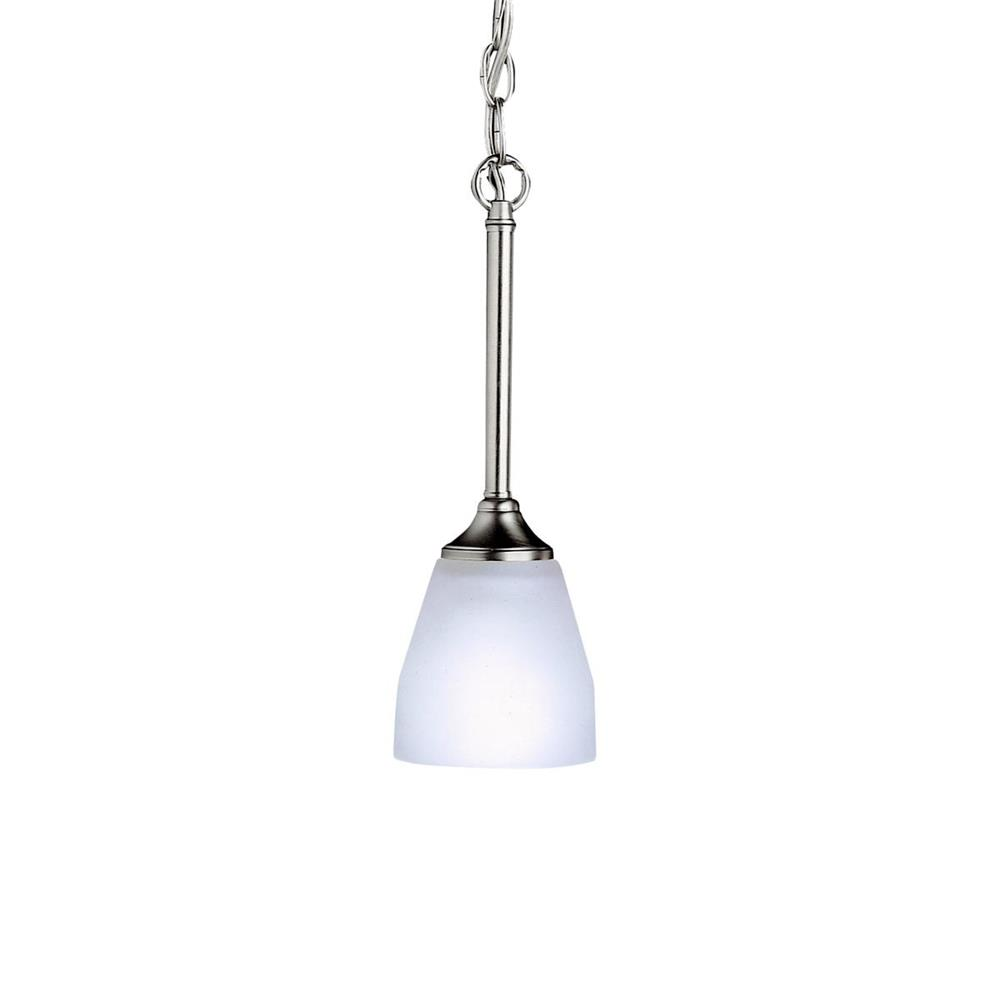 Kichler BUILDER 3345NI Mini Pendant 1 Lt in Brushed Nickel