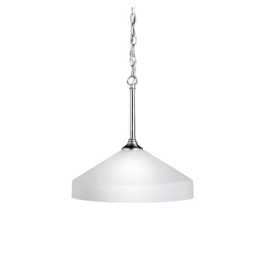 Kichler BUILDER 3349NI Pendant 1 Lt in Brushed Nickel