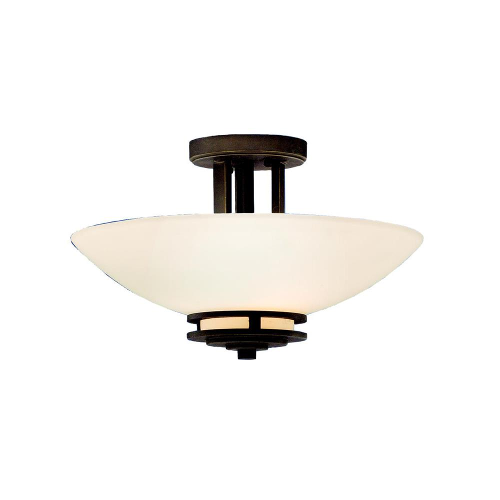 Kichler 3674OZ Semi Flush 2 Lt in Olde Bronze