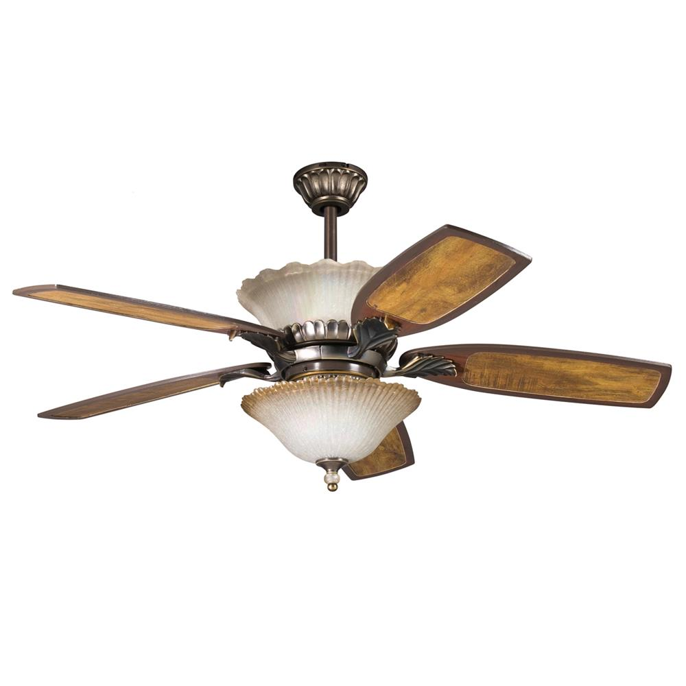 Kichler DECORATIVE FANS 380002OLZ Golden Irid