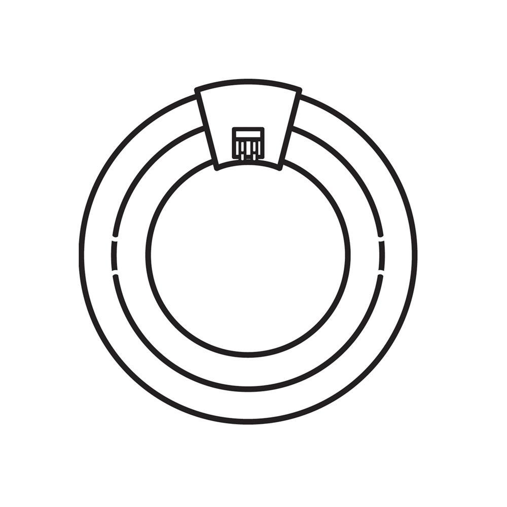 Kichler BUILDER 4029 Bulb 55W Fluor Circline in White