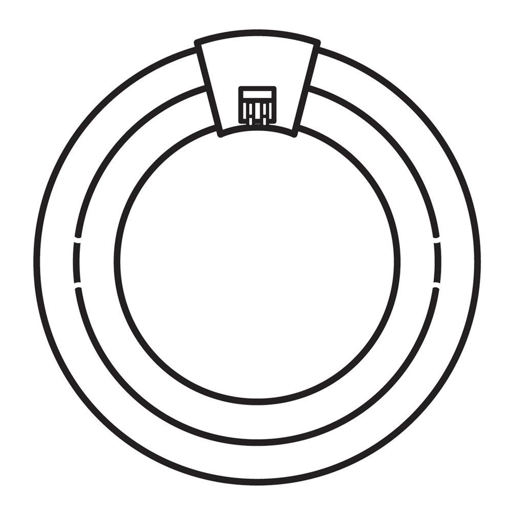 Kichler BUILDER 4030 Bulb 2CT670W Fluor Circline in White