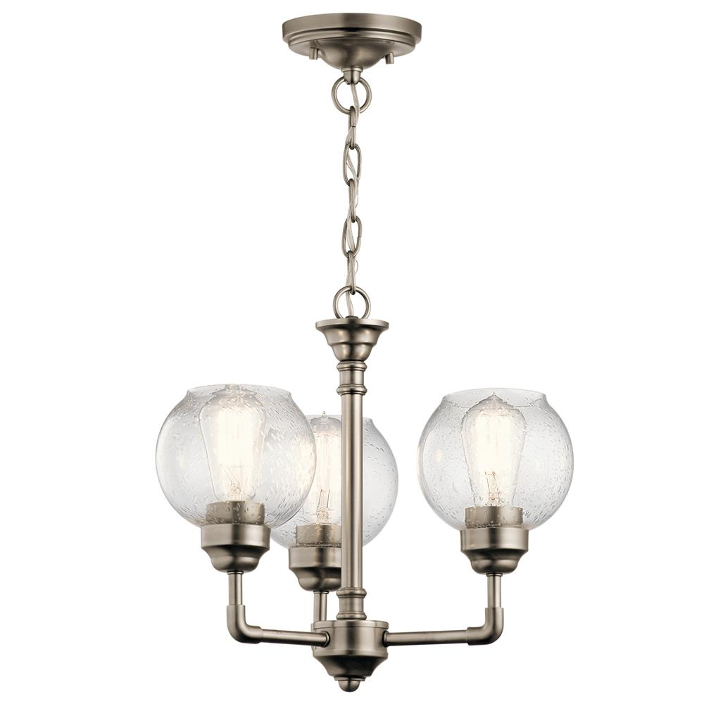 43992ap Kichler 43992ap Chandelier Semi Flush 3lt In
