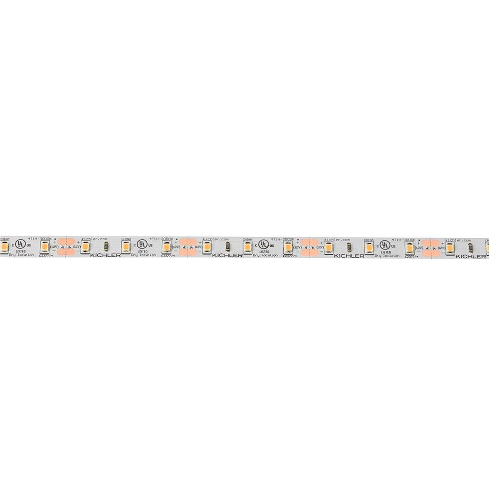 Kichler 4T1100H27WH Dry High Output Tape 12V High Dry 2700K Tape 100 White Material (Not Painted)