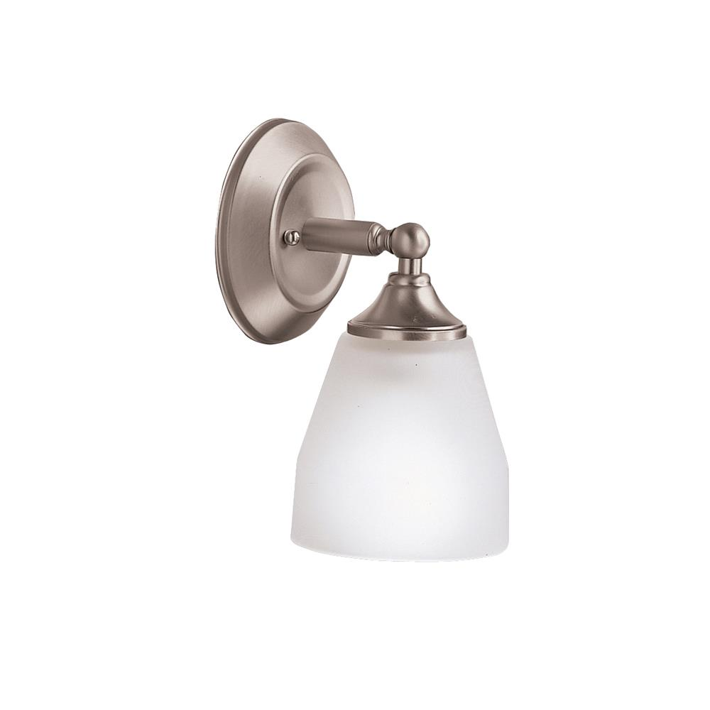 Kichler BUILDER 5446NI Wall Sconce 1 Lt in Brushed Nickel