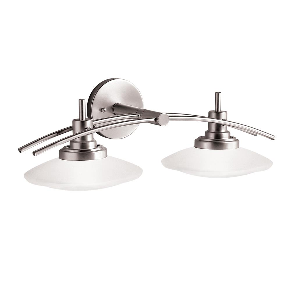 Kichler 6162NI Bath 2 Lt Halogen in Brushed Nickel