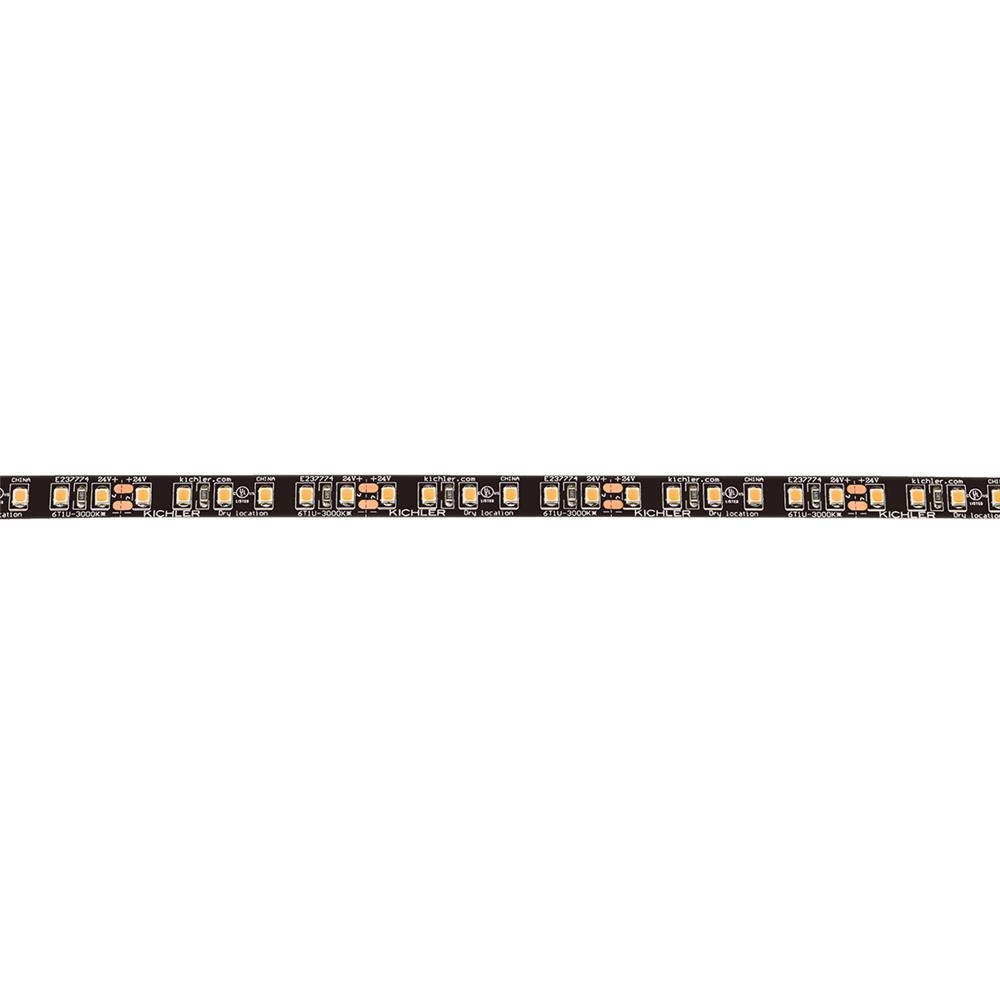 Kichler 6T110UH30BK Dry Ultra Output Tape 24V Ultra Dry 3000K Tape 10 Black Material (Not Painted)
