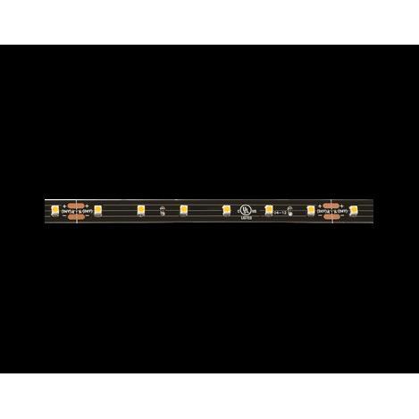 Kichler 6T120H24BK Dry High Output Tape 24V High Dry 2400K LED Tape 20 Black Material (Not Painted)