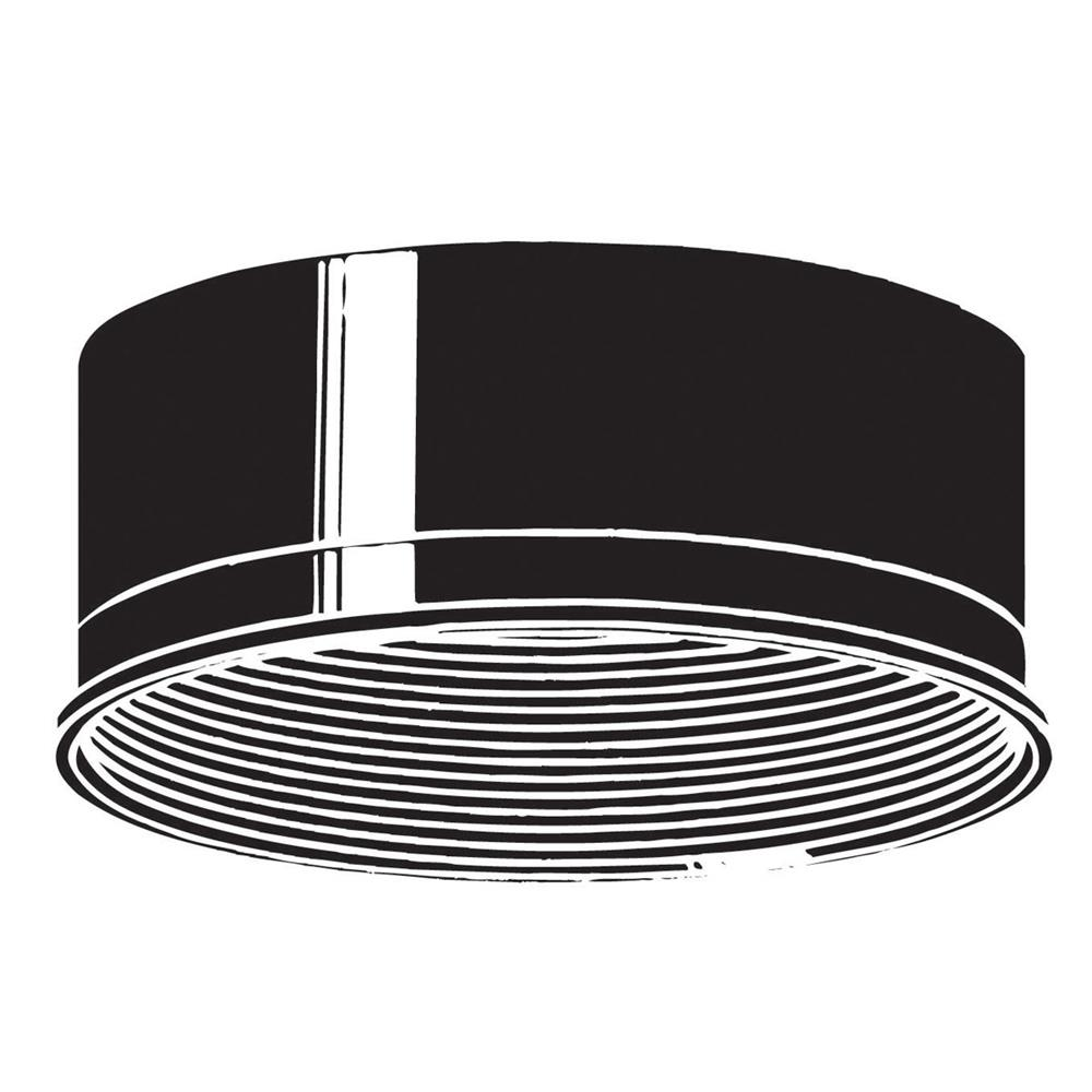 Kichler 9546BK Accessory Baffle in Black Material (Not Painted)