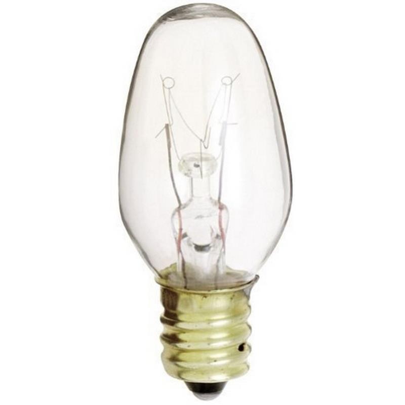 Kichler DECORATIVE FANS 4070CLR 10W E12 C7 Clear Bulb in Clear