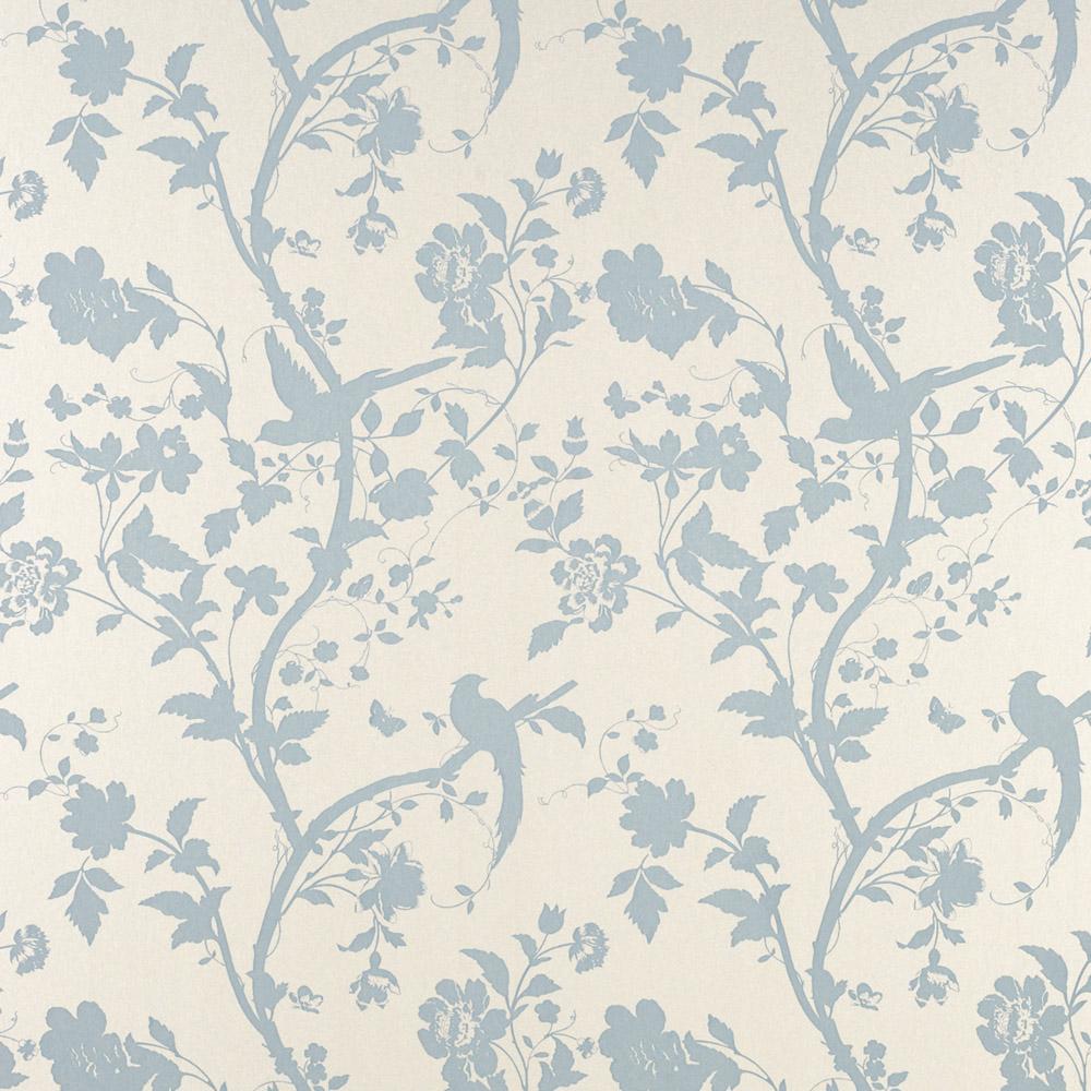 Laura Ashley 3308213 Oriental Garden Duck Egg Pearl Wallpaper