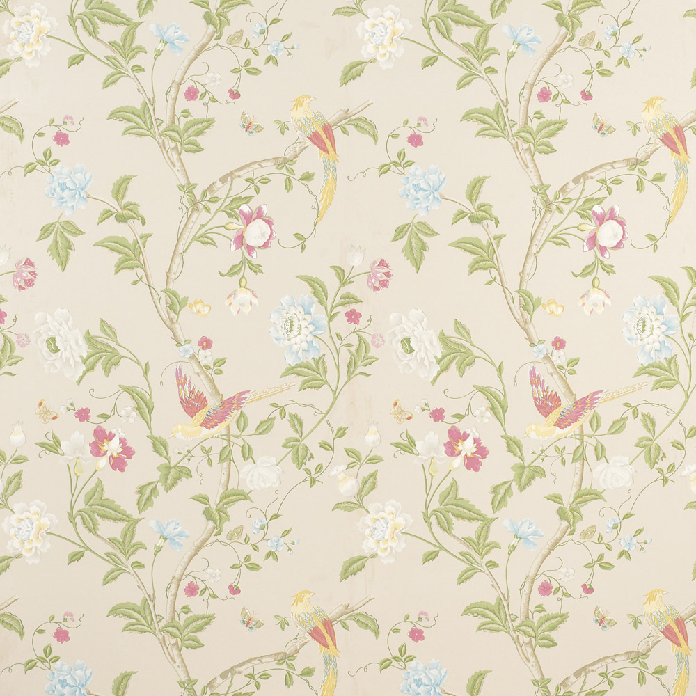Laura Ashley 3308216 Summer Palace Linen Wallpaper