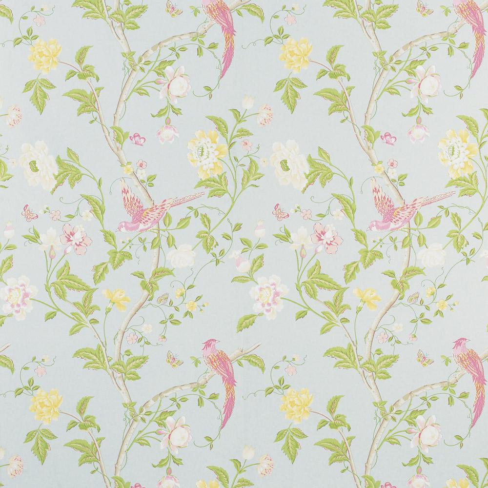 Laura Ashley 3308217 Summer Palace Duck Egg Wallpaper