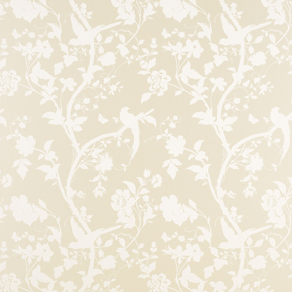 Laura Ashley 3321392 Oriental Garden Linen Wallpaper