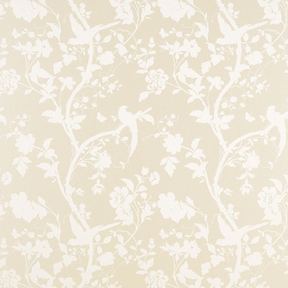 Laura Ashley 3321392 Oriental Garden Linen Wallpaper