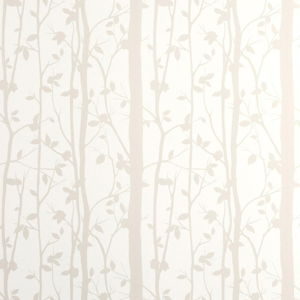 Laura Ashley 3485116 Cottonwood/White Wallpaper