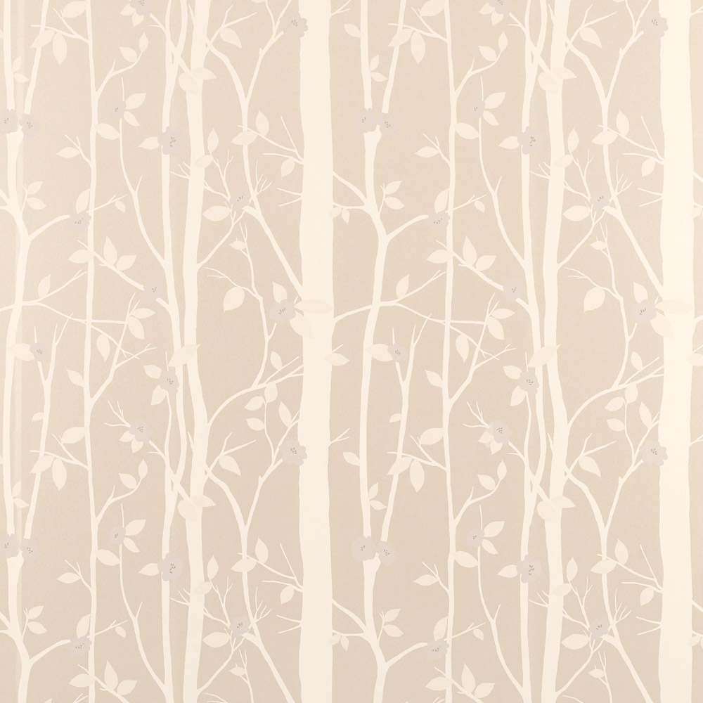 Laura Ashley 3486836 Cottonwood/Natural Wallpaper