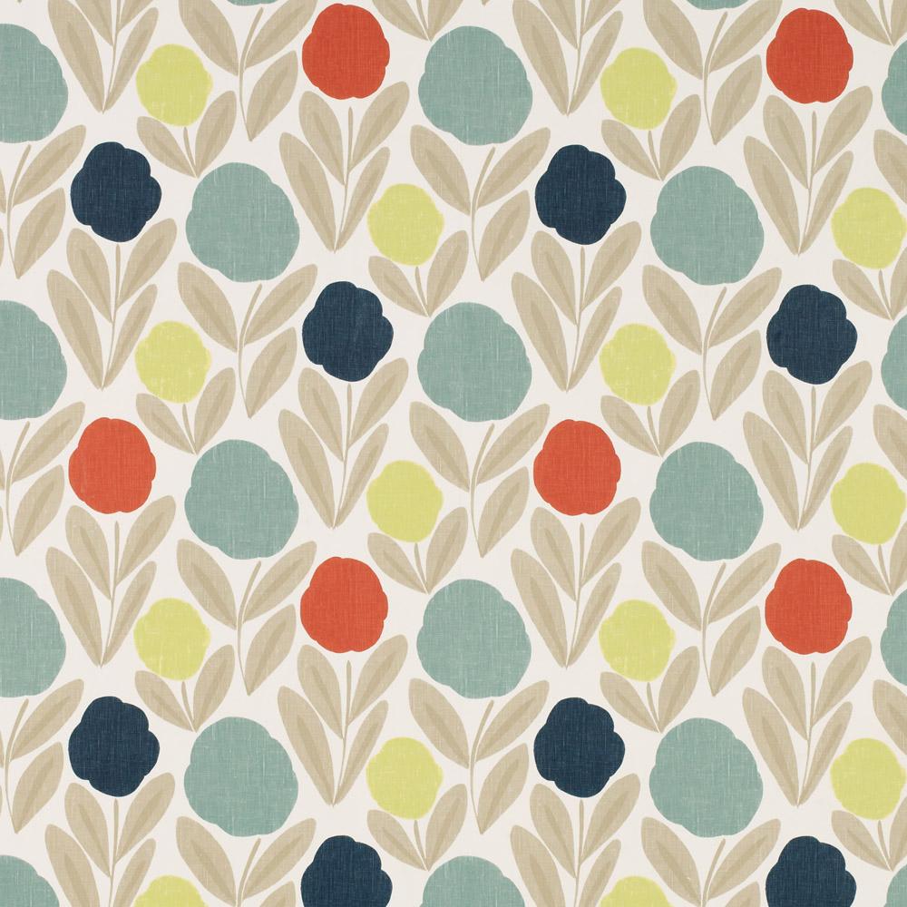 Laura Ashley 3519599 Serena Natural Multi Wallpaper