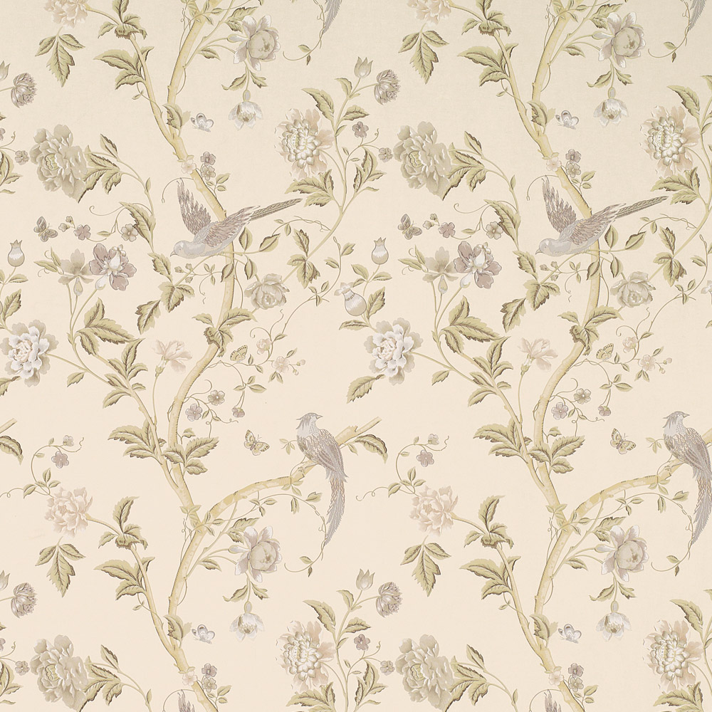 Laura Ashley 3519608 Summer Palace Taupe/Ivory Wallpaper
