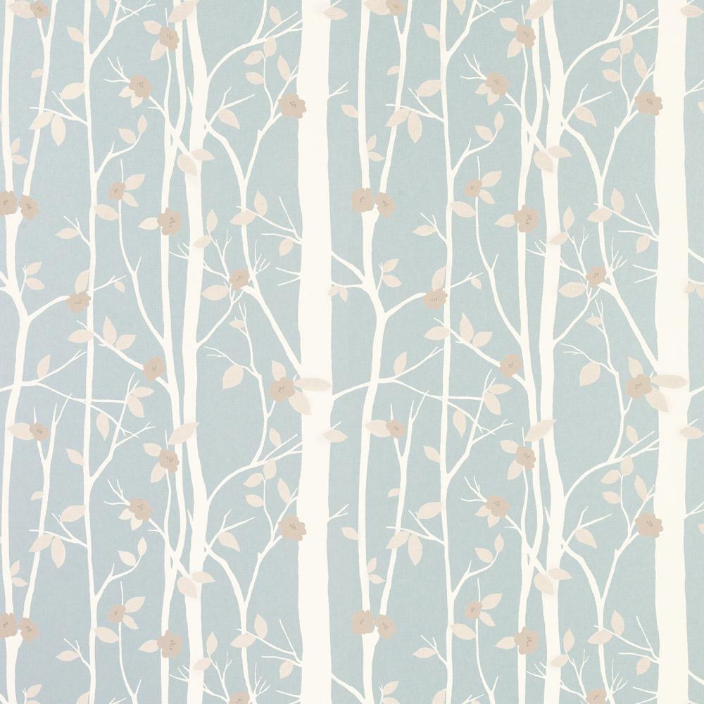 Laura Ashley 3534845 Cottonwood Duck Egg Wallpaper