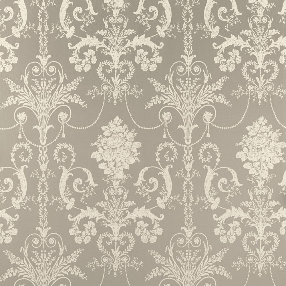 Laura Ashley 3579977 Josette Pewter Wallpaper