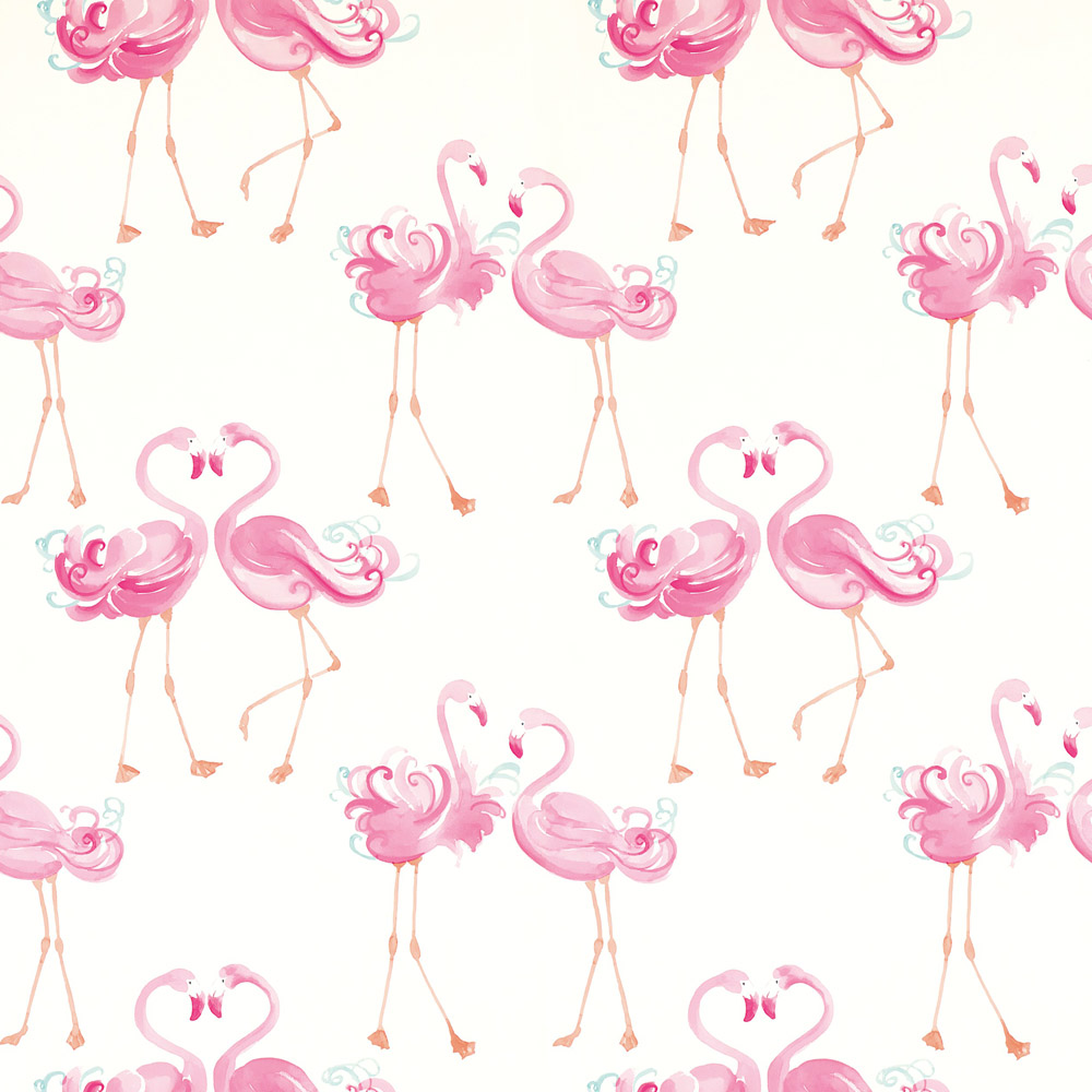 Laura Ashley 3622319 Pretty Flamingo Pink Wallpaper