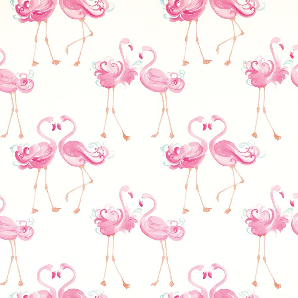 Laura Ashley 3622319 Pretty Flamingo Pink Wallpaper