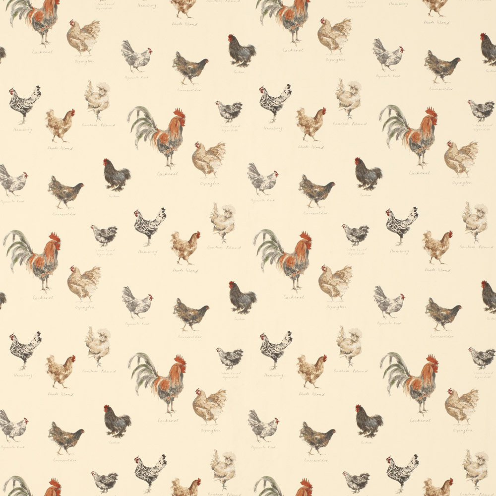 Laura Ashley 3632445 Branscombe Linen Wallpaper