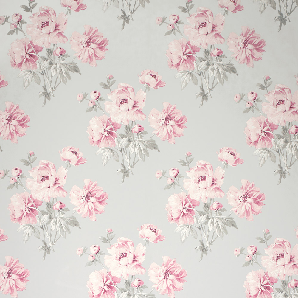 Laura Ashley 3635708 Beatrice Cyclamen Wallpaper