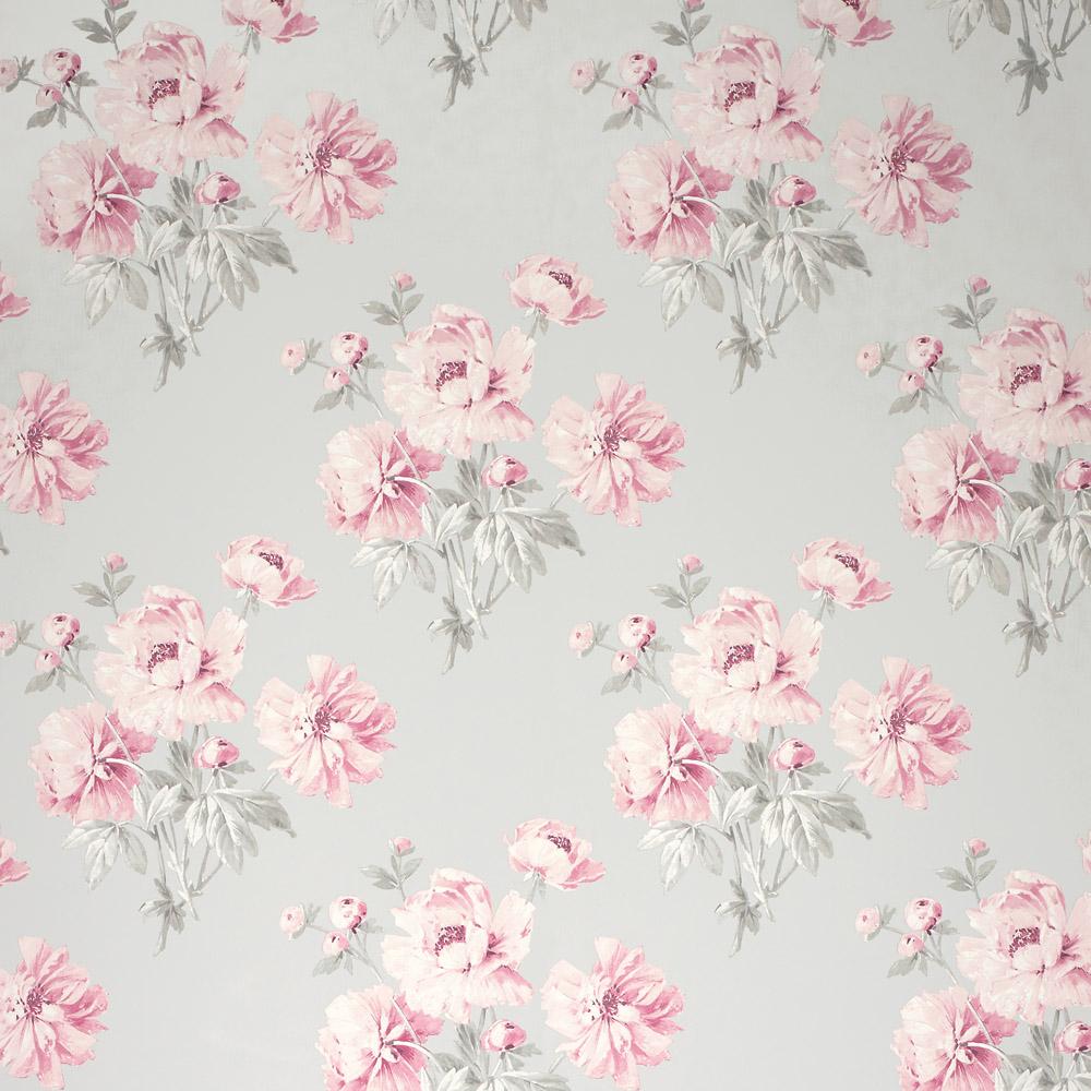 Laura Ashley 3635708 Beatrice Cyclamen Wallpaper