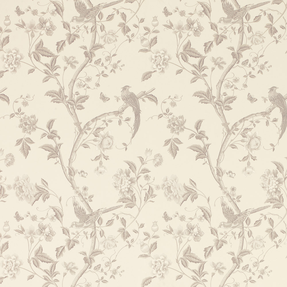 Laura Ashley 3635741 Summer Palace Dove Grey Wallpaper